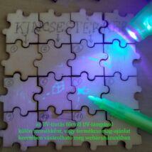 Üres puzzle kincskereséshez, kirakóshoz, térképhez, rejtvényekhez - ceruzával (újra)írható (1 szem)