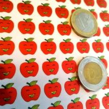 Matricakészlet - fémesen csillogó almák, több változat