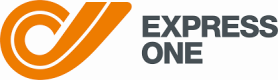 Express One home delivery courrier company logo