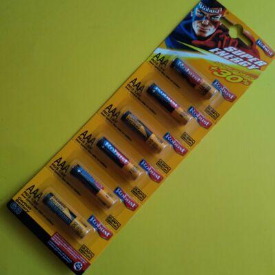 Rúdelem, féltartós 1.5V, AAA (mikro) - AA (ceruza) is kapható, 1db