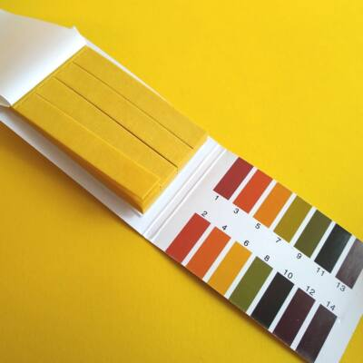 pH-indikátor 1-14 pH sav-bázis koncentráció mérésére - tesztcsík 80 db-os lakmuszpapír - pH-meter paper