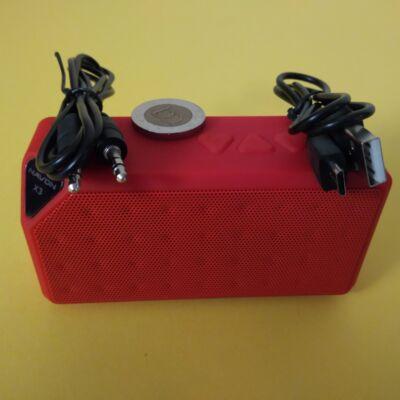 NAVON X3 Bluetooth hangfal (3 W), piros - ha unod a magnót cipelni...