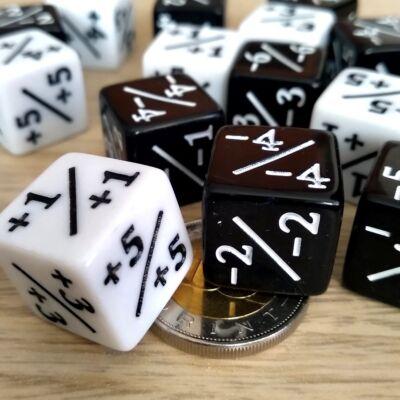Kétféle színváltozat - Plusz-mínusz kocka – számolás – alapműveletek – összeadás – kivonás – pozitív és negatív számok tanításához